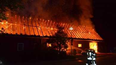 Photo of Werkstattgebäude in Neukloster abgebrannt
