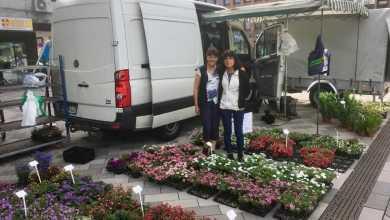 Photo of Familie Heitmann verabschiedet sich vom Wochenmarkt