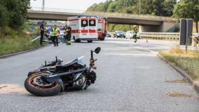 Bild von Schwerer Unfall auf der A7 in Marmstorf