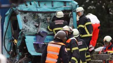 Photo of Schwerer Unfall auf der A1 bei Harburg