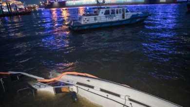 Photo of Fähre stößt am Fischmarkt mit Kleinboot zusammen