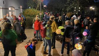 Photo of Viele Besucher beim Laternelaufen in Eißendorf
