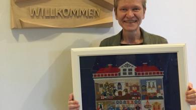 Photo of Festlich geschmücktes Hospiz lädt zum Adventsmarkt ein
