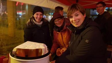 Photo of SPD-Ortsgespräch mit Adventsstimmung – Punsch und Gebäck auf dem Marktplatz