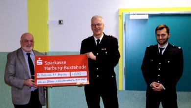 Photo of Förderverein der Freiwilligen Feuerwehr Neugraben sammelte 600 Euro