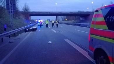 Photo of Motorradfahrer bei Unfall auf Autobahn 26 in Stade schwer verletzt