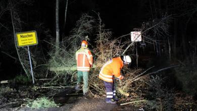 Photo of Sturmeinsätze im Landkreis forderte die Feuerwehren