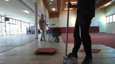 Photo of HNT nutzt sportfreie Zeit für Renovierung im Vereinsfitnessstudio