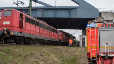 Bild von Umwelteinsatz: Lok verlor Transformatorenöl