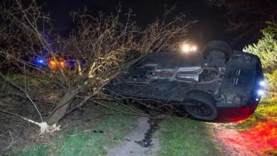 Bild von 585 PS Mercedes schrottreif gefahren