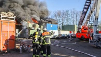 Photo of Überseecontainer werden Opfer von Flammen