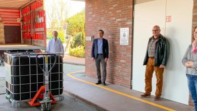 Photo of Elbe Kliniken erhalten Händedesinfektionsmittel von der Dow