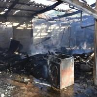 Garagen ausgebrannt - War es Brandstiftung?