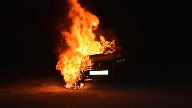 Photo of Auto brennt lichterloh: Polizei sucht Zeugen