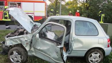 Photo of 20-jährige Autofahrerin bei Unfall schwer verletzt