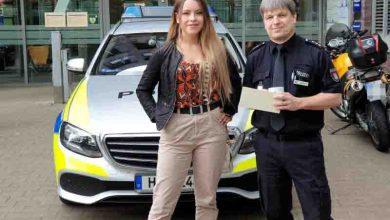 Bild von 22-jährige Lebensretterin erhält Lob von der Polizei