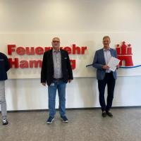 Rotes Kreuz in Hamburg künftig mit mehr Rettungswagen im Einsatz