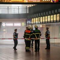 Sprinkleranlage löst aus - Chaos am Hauptbahnhof
