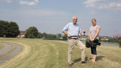 Bild von ZDF in Hamburg-Finkenwerder: Vier Wochen auf der Elbinsel