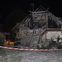 Nach Wohnhausbrand beinahe ein halbe Million Euro Schaden