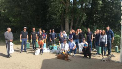 Bild von Aktion vom Harburg-Huus zum World Cleanup Day 2020