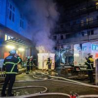 Dritter Großbrand an diesem Wochenende: Feuerwehr im Großeinsatz in Rothenburgsort