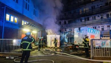 Bild von Dritter Großbrand an diesem Wochenende: Feuerwehr im Großeinsatz in Rothenburgsort