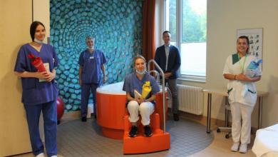Bild von Ausbildungsstart für 3 Hebammenstudentinnen an der Mariahilf Klinik