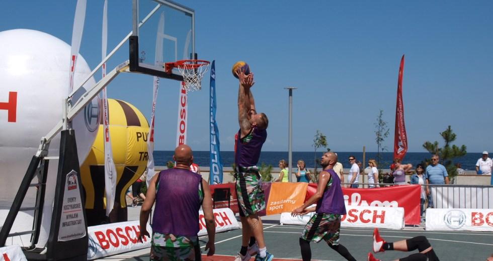 Turniej koszykówki ulicznej Streetball w Kołobrzegu 15-16.07.2017