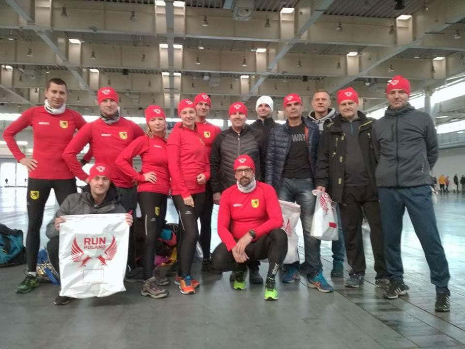 Team Biegowy Szczecinek na Biegu Niepodległości w Poznaniu