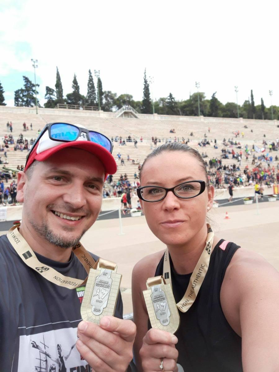 Biegacze ze Szczecinka startowali w maratonie Ateńskim