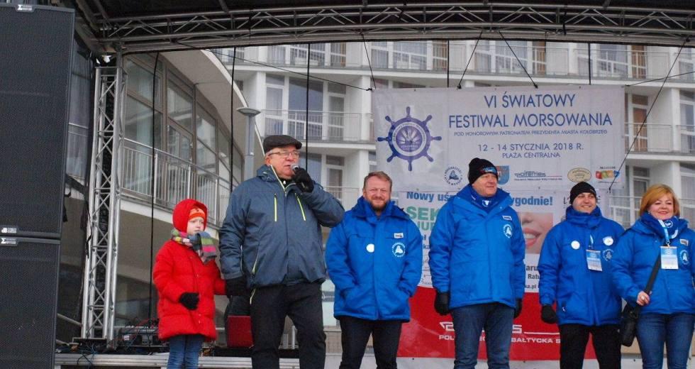 Światowy festiwal Morsowania w Kołobrzegu