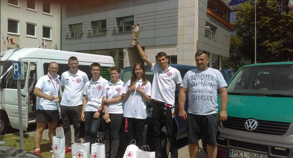 Ratownicy Rescue Team z Czaplinka zajęli 6 miejsce na etapie centralnym Mistrzostw Pierwszej Pomocy PCK