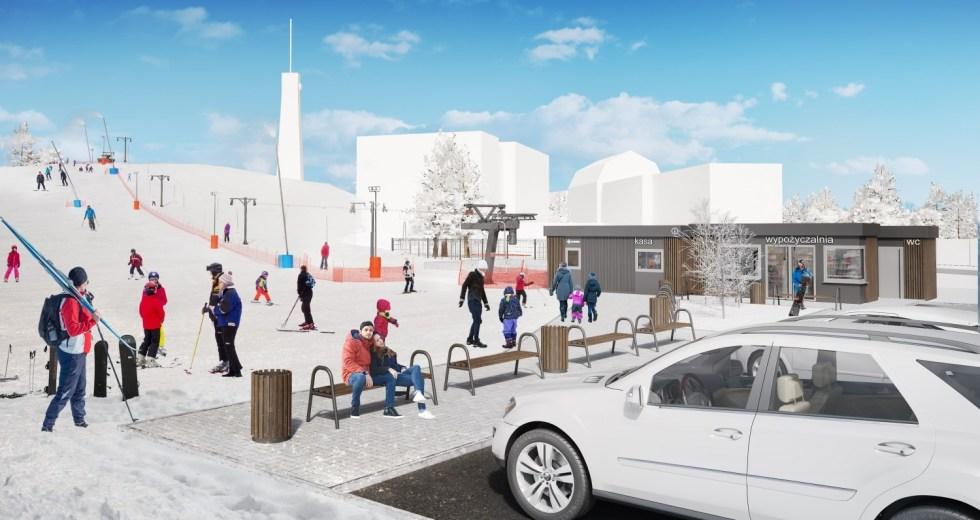 Zimowa atrakcja w regionie – w Szczecinku powstanie wyciąg narciarski.