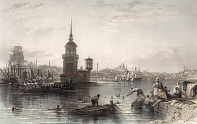 1840'larda Kızkulesi