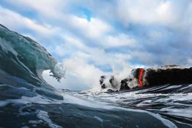 Lava Wave, Kalapana, Hawaii, USA   Fotoğraf: CJ Kale