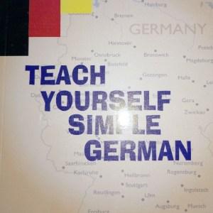 Teach Yourself Simple German