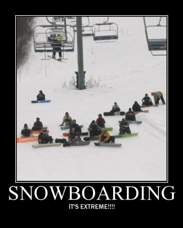Snowboarding (Motivator)