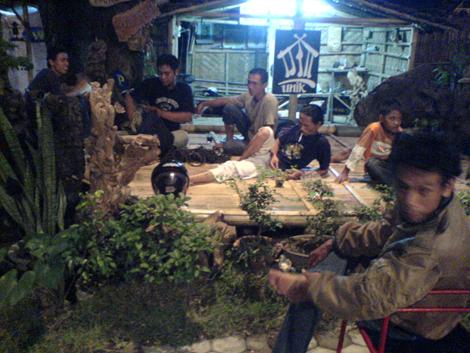 Para penggiat di Kampung Hijau