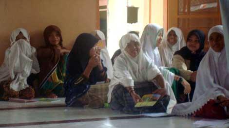 Workshop Kilat di Ponpes Banu sanusi