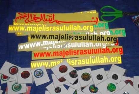 Stiker Majelis Rasulullah