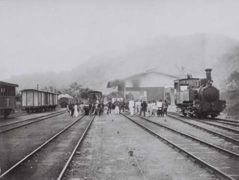 Stasiun Padangpanjang tahun 1880-1900