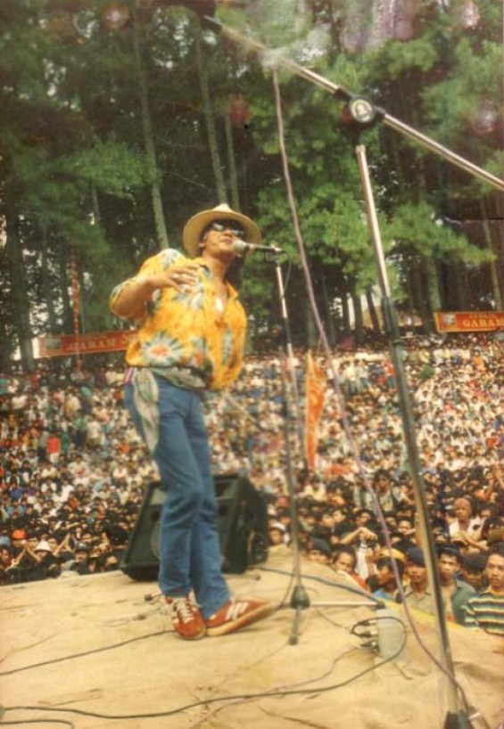 Deddy Stanzah, Jagger-nya Bandung