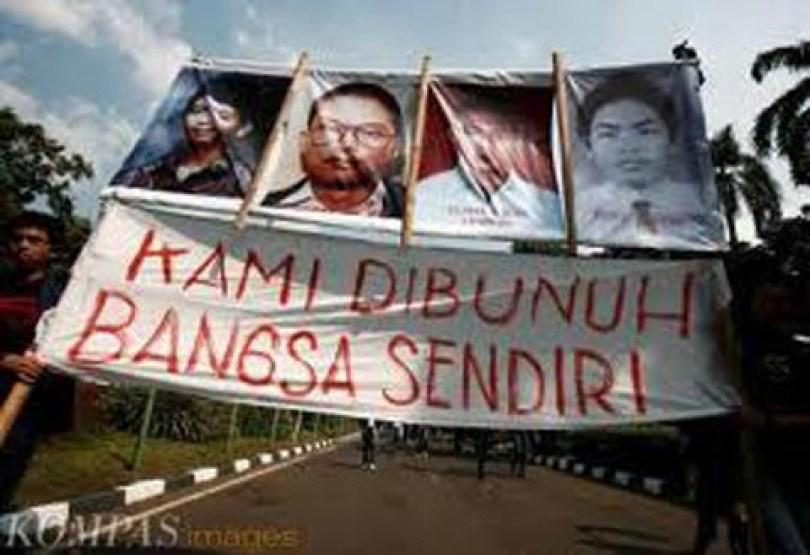 Korban Tragedi Trisakti 1998 (Elang Mulia Lesmana, Heri Hertanto, Hafidin Royan, dan Hendriawan Sie)