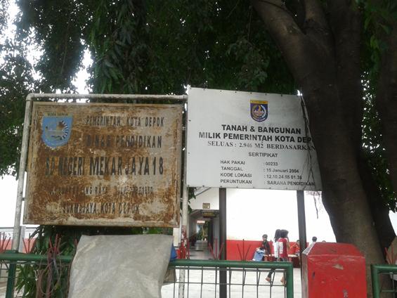 Mekar Jaya 13 Elementary School.