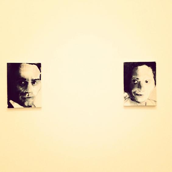 Pasolini & Pasolini's Mother (2012) karya Marlene Dumas.
