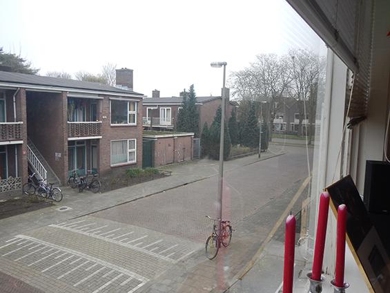 Suasana di depan apartemenku saat ini, Verenigingstraat, Utrecht