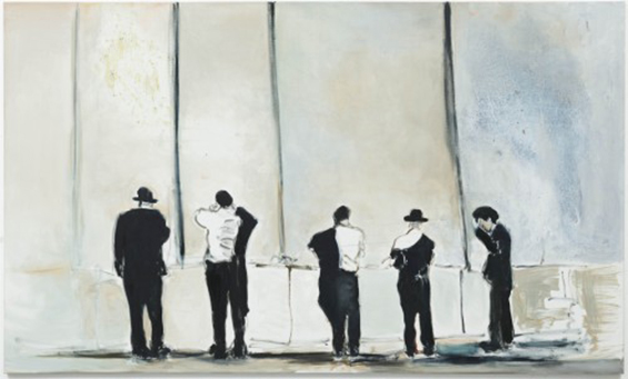 The Wall (2009) Marlene Dumas.