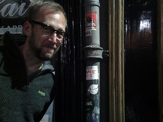Reinaart Vanhoe, seniman dan pengajar seni di Willem de Kooning, Rotterdam, Belanda.