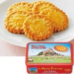 ノルマンディー産バターで焼きあげた、ブルターニュ地方伝統厚焼きガレットクッキー。